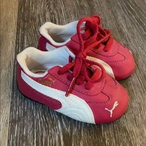 Puma lace up running shoes